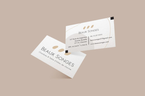 Beaux Songes – Cartes de visite